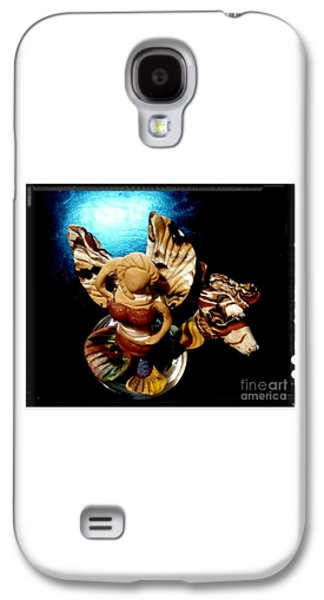 Mermaid Angel With Trigger Galaxy S4 Case