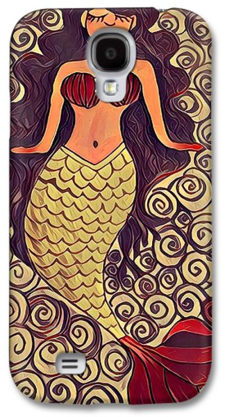 Mermaid Dreams Galaxy S4 Case