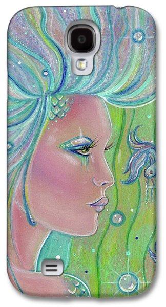 Mermaid Warrior Galaxy S4 Case by Renee Lavoie