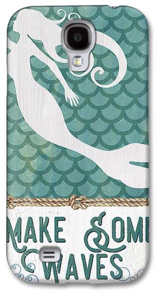 Mermaid Waves 1 Galaxy S4 Case by Debbie DeWitt