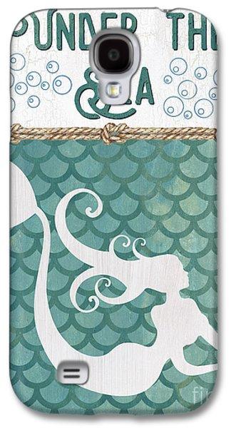 Mermaid Waves 2 Galaxy S4 Case by Debbie DeWitt