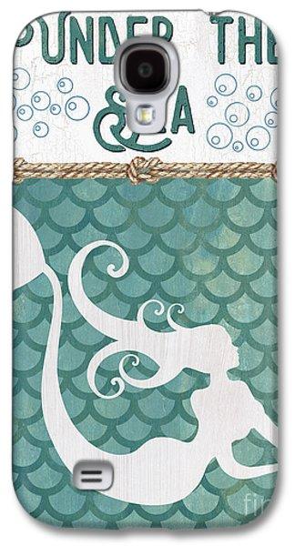 Mermaid Waves 2 Galaxy S4 Case