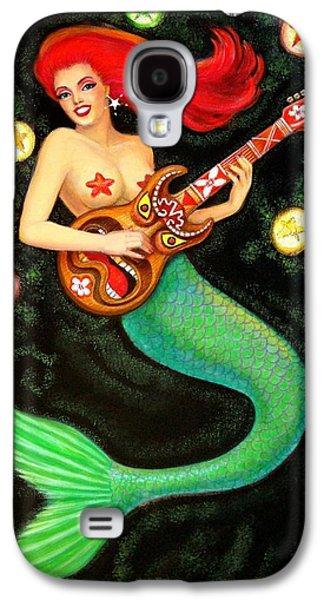 Mermaids Rock Tiki Guitar Galaxy S4 Case