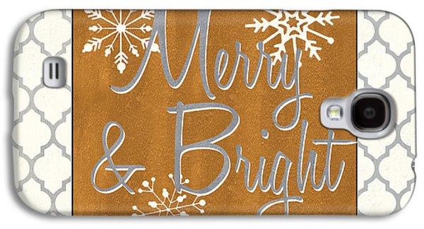 Merry And Bright Galaxy S4 Case by Debbie DeWitt