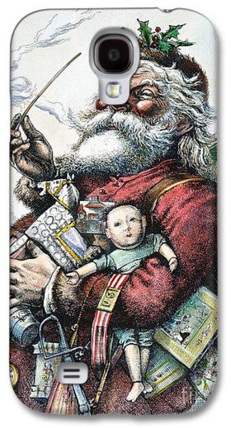 Merry Old Santa Claus Galaxy S4 Case