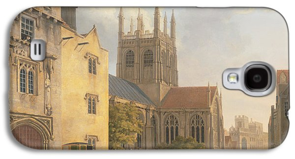 Town Galaxy S4 Case - Merton College - Oxford by Michael Rooker