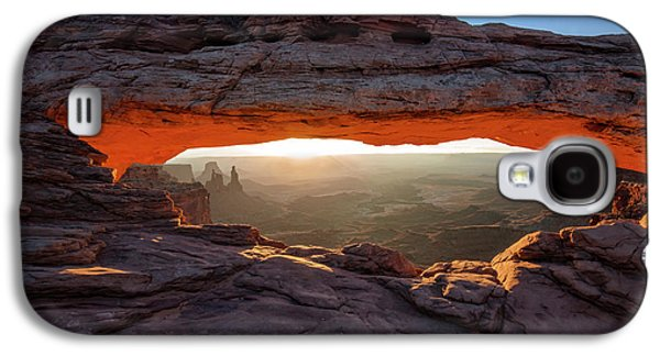 Mesa Arch At Sunrise Galaxy S4 Case by Mark Kiver