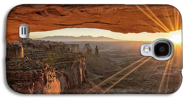 Travel Galaxy S4 Case - Mesa Arch Sunrise 4 - Canyonlands National Park - Moab Utah by Brian Harig