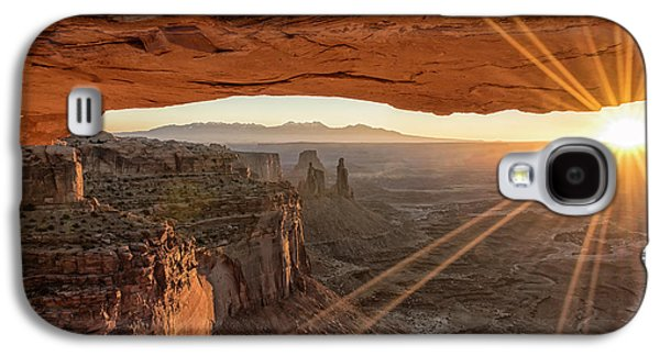 Mesa Arch Sunrise 4 - Canyonlands National Park - Moab Utah Galaxy S4 Case