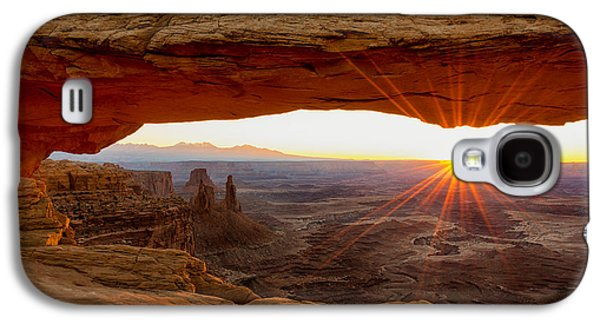 Mesa Arch Sunrise - Canyonlands National Park - Moab Utah Galaxy S4 Case by Brian Harig