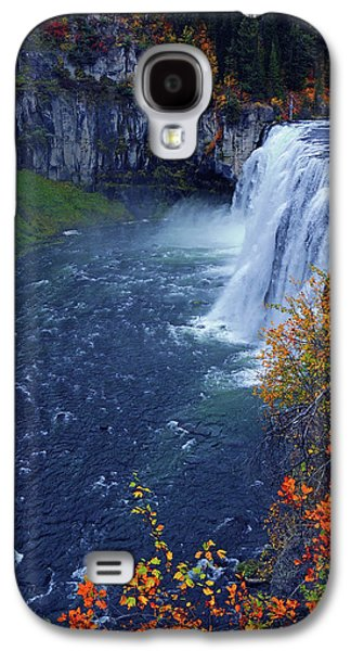 Mesa Falls In The Fall Galaxy S4 Case