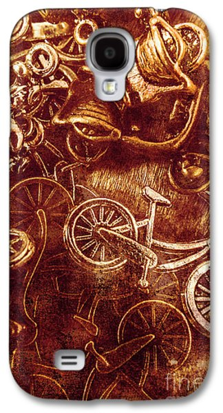 Messy Bike Workshop Galaxy S4 Case by Jorgo Photography - Wall Art Gallery