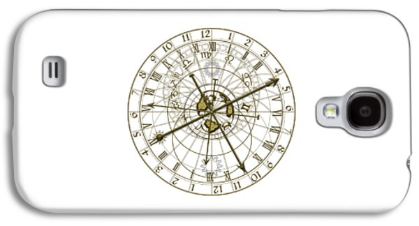 Metal Astronomical Clock Galaxy S4 Case