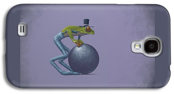 Frogs Galaxy S4 Case - Metal Ball by Jasper Oostland