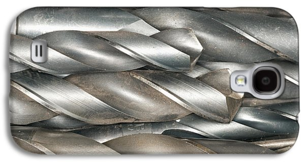 Home Improvement Galaxy S4 Cases - Metal Drill Bits Galaxy S4 Case by Shannon Fagan