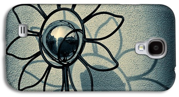 Metal Flower Galaxy S4 Case by Dave Bowman