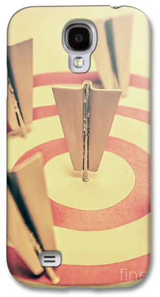 Metal Paper Planes In Target, Business Aims Galaxy S4 Case by Jorgo Photography - Wall Art Gallery