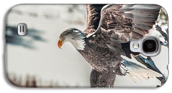 Metallic Bald Eagle  Galaxy S4 Case
