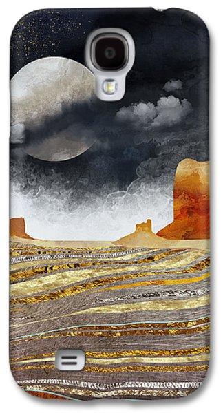 Landscapes Galaxy S4 Case - Metallic Desert by Spacefrog Designs