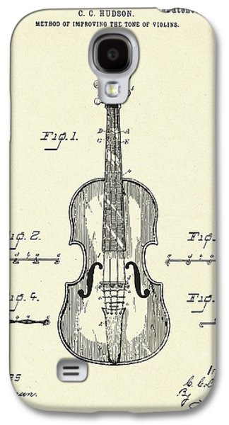 Violin Galaxy S4 Case - Method Of Improving The Tone Of Violins-1888 by Pablo Romero