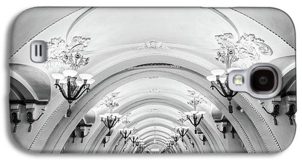 Moscow Galaxy S4 Case - Metro Arbatskaya by Delphimages Photo Creations