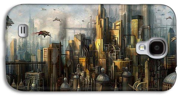 Metropolis Galaxy S4 Case by Philip Straub