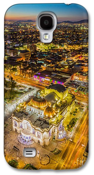 Mexico City Twilight Galaxy S4 Case