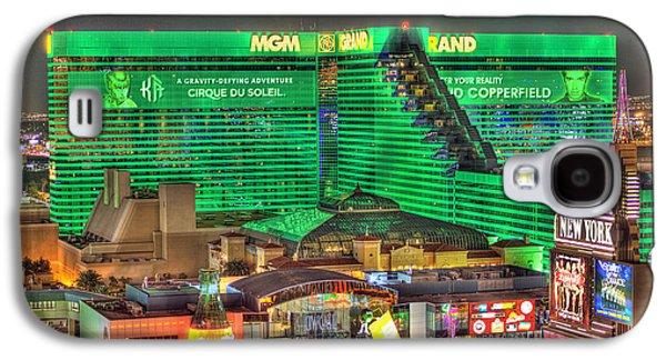 Mgm Grand Las Vegas Galaxy S4 Case by Nicholas  Grunas