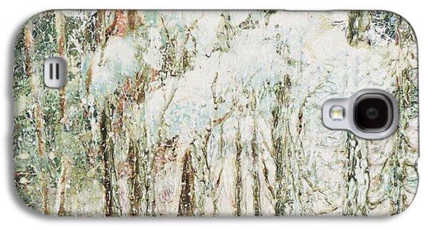 Mi-saison  Galaxy S4 Case by Janine Boudreau