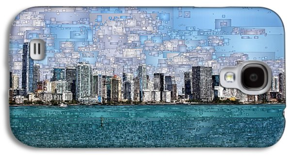 Miami, Florida Galaxy S4 Case