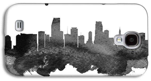 Miami Florida Skyline 18 Galaxy S4 Case by Aged Pixel