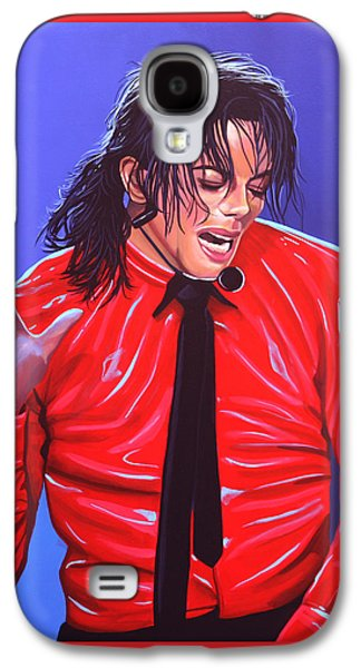 Michael Jackson 2 Galaxy S4 Case by Paul Meijering