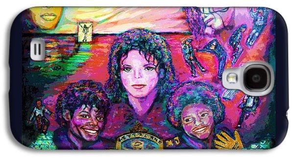 Michael Jackson 4-everland Galaxy S4 Case by Regina Brandt