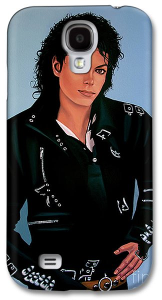 Michael Jackson Bad Galaxy S4 Case by Paul Meijering