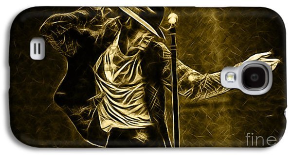 Michael Jackson Collection Galaxy S4 Case by Marvin Blaine