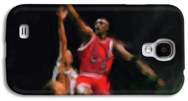 Michael Jordan 548 1 Galaxy S4 Case by Mawra Tahreem