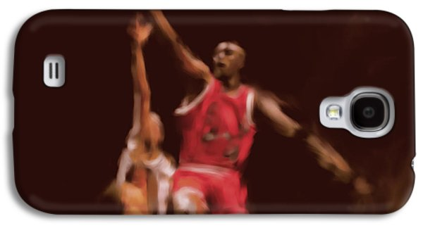 Michael Jordan 548 2 Galaxy S4 Case by Mawra Tahreem