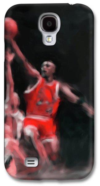 Michael Jordan 548 3 Galaxy S4 Case by Mawra Tahreem