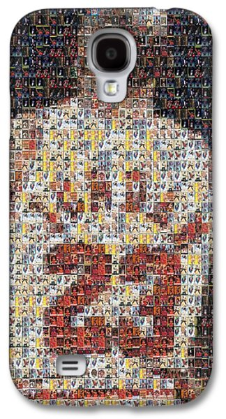 Michael Jordan Card Mosaic 2 Galaxy S4 Case by Paul Van Scott