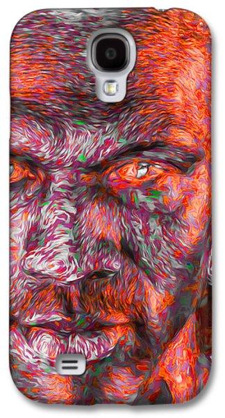 Michael Jordan Digital Painting 2 Galaxy S4 Case by David Haskett