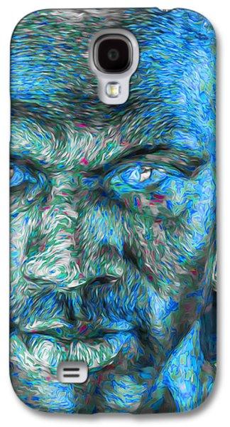 Michael Jordan Digital Painting 3 Galaxy S4 Case by David Haskett