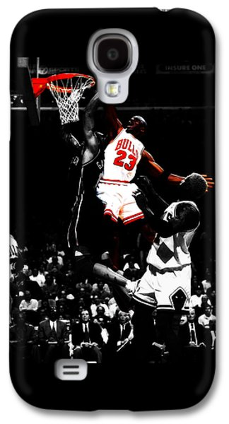 Michael Jordan Gimme Dat Galaxy S4 Case by Brian Reaves