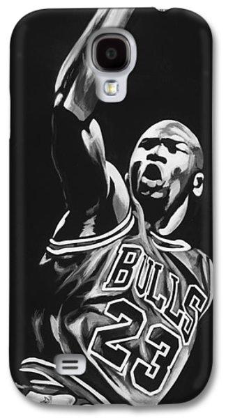 Michael Jordan  Galaxy S4 Case by Don Medina