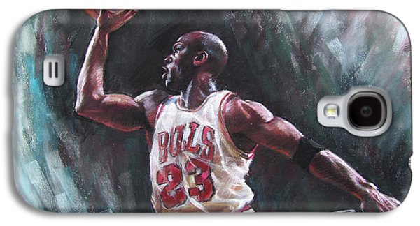 Bull Galaxy S4 Case - Michael Jordan by Ylli Haruni