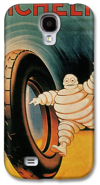 Michelin Tires Vintage Art Poster Galaxy S4 Case