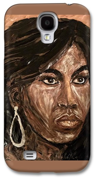 Michelle Obama A Class Act Galaxy S4 Case by Deborah Stanley