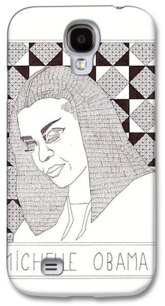 Michelle Obama Galaxy S4 Case by Benjamin Godard