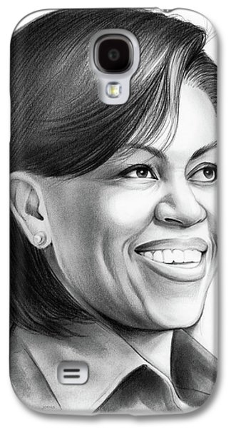 Michelle Obama Galaxy S4 Case by Greg Joens
