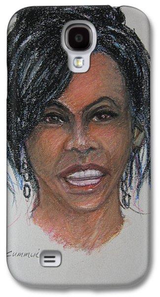 Michelle Obama Galaxy S4 Case by John Cummings