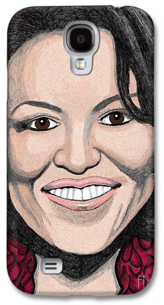 Michelle Obama Galaxy S4 Case by Richard Heyman